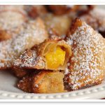 Recipes to Boost Focus in Meetings: Peach Wontons #RBFM