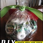 "#DIY Promotional Giveaway: ""Thanks for your Commit-Mint"" Gift Bag / Gift Basket"