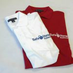 Finished Work: Embroidered Polos for Safe Home Systems