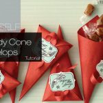 #DIY Gifts & Giveaways: Candy Cone Envelopes