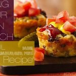 Bring-Your-Own-Lunch Recipes: Mini Cheeseburger Pies #BYOL #WTF