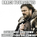 Brace Yourselves: Government Shutdown Memes are Coming