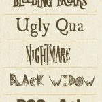 Download this Free Font: Halloween Fonts for October Events