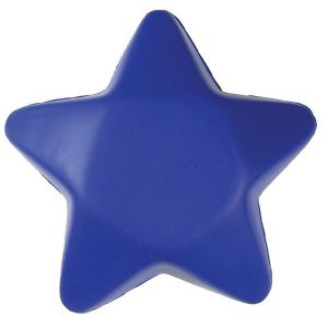 Blue Star Shaped Squeezies Stress Reliever Item# 652596