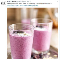 Food blog on Smoothies