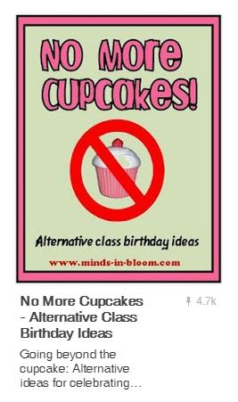 A flyer for no more cupcakes on pinterest
