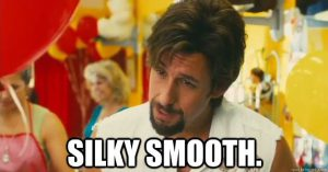 The Zohan approves of Under Armour.
