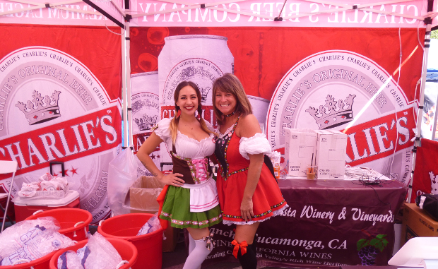 Charlie's Beer Company at Oktoberfest