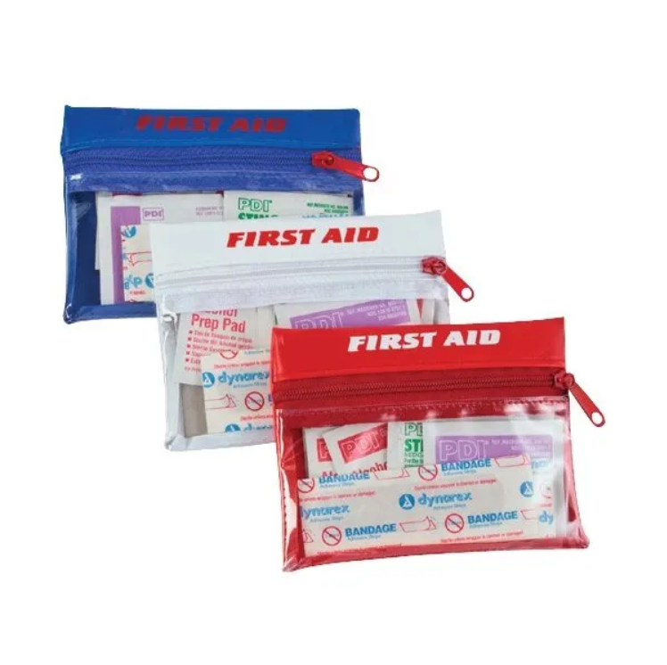 8 piece first aid travel kit